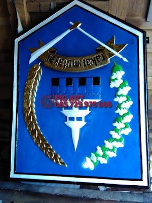 Logo Tembaga Kuningan Custom Design