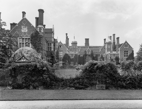 Photograph of North Mymms Park c 1902