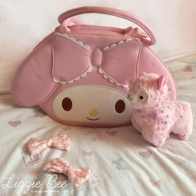 my melody sanrio bag