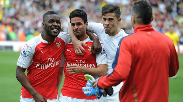 crying arteta arsenal