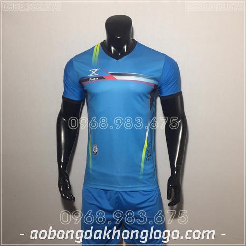 Áo bóng đá không logo Zavikia HAT Zavi màu xanh nhạt