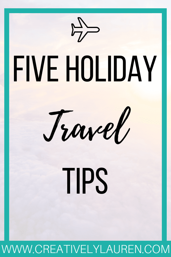 I work in the travel industry, so I know what to look for and what to do when it comes to holiday travel and what to do. The holidays can be a stressful time for travelers, especially because most holiday travelers only travel once or twice a year.