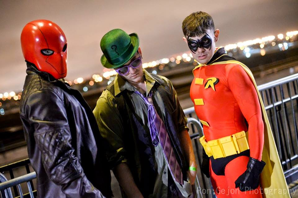 Ron Gejon Photography - Red Hood, Riddler, and Red-Robin Cosplay