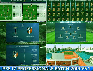 pes 2017 profesional patch 2019