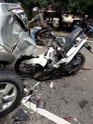 1 Meninggal Dalam Kecelakaan Maut di Jalan MEDAN-BANDA ACEH GP. PULO KEC. SYAMTALIRA ARON KAB. ACEH UTARA