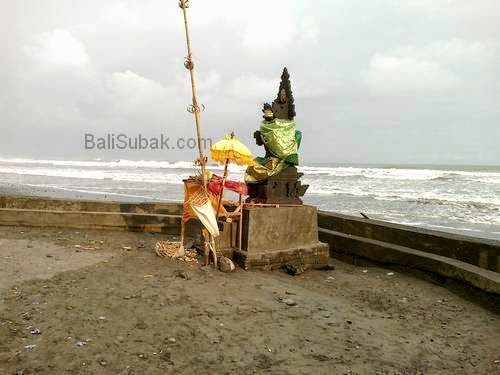 Guardian deity of the sea, Bali beachs
