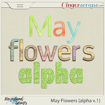 http://store.gingerscraps.net/May-Flowers-alpha-v.1.html