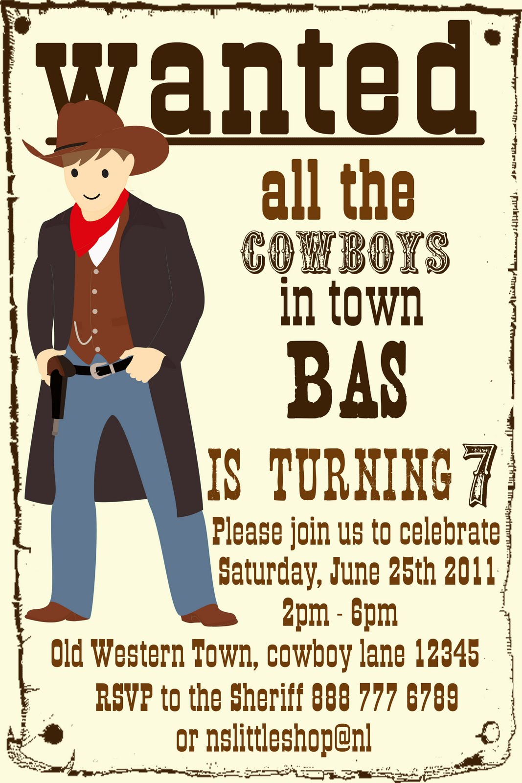 Nslittleshop Party Decorations And More Cowgirl And