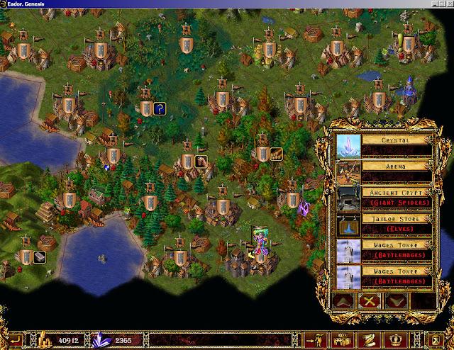 Map and Sites Screenshots | Eador: Genesis
