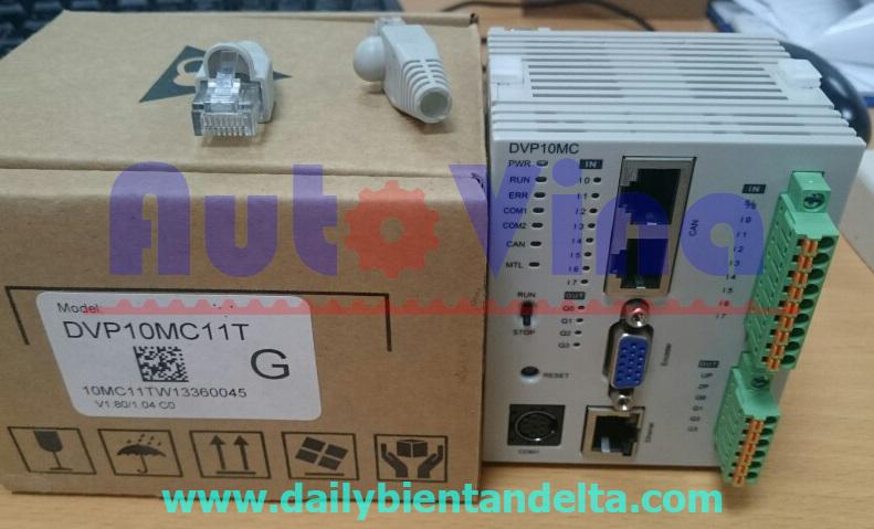 Đại lý bán PLC Delta DVP10MC11T Motion Controller