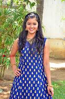 Tamil Actress Amritha Pos in Blue Long Dress at Padaiveeran Tamil Movie Audio Launch  0004.jpg