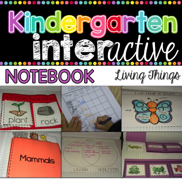 Living Things Interactive Notebook - Science Unit