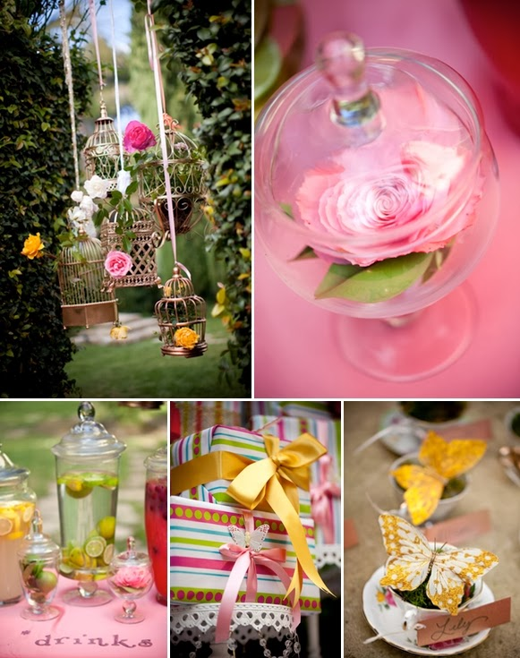 ideias para aniversario jardim encantado