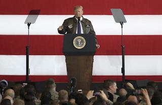 Trump in Japan warns dictators and Tyrants Of American Strength