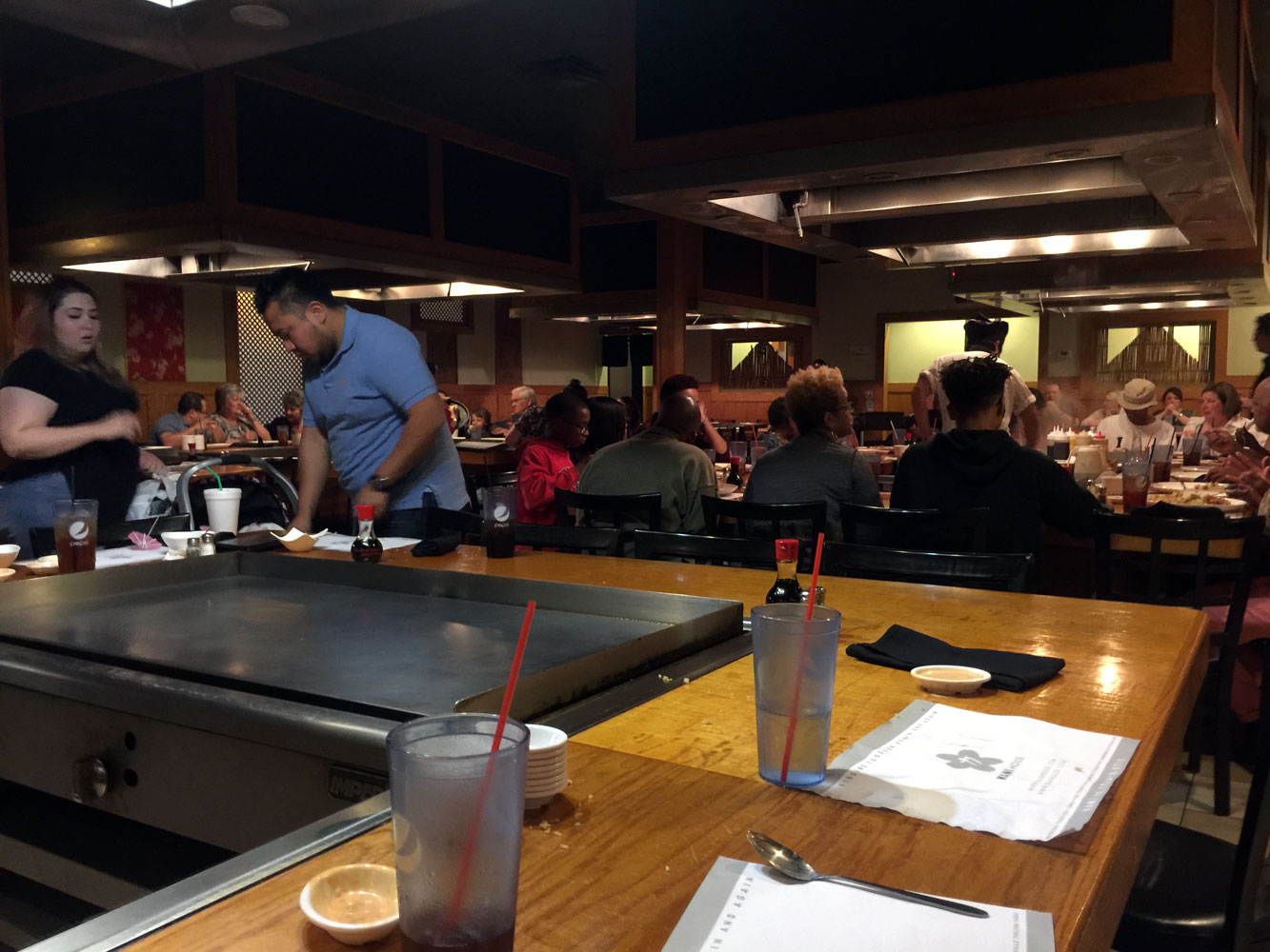 Unlike Many Other Teppanyaki Restaurants, The Tables Are Exposed To One  Another So You Can See Whatu0027s Happening Across The Room (most Of These  Style ...