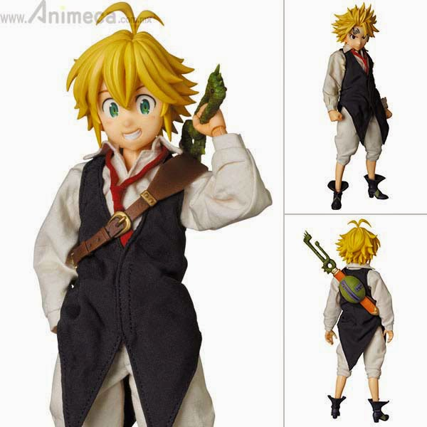 MELIODAS REAL ACTION HEROES No.709 FIGURE The Seven Deadly Sins Medicom Toy