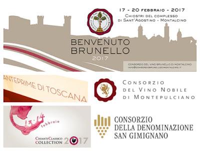 Eventi Vino Toscana 2017 Anteprime