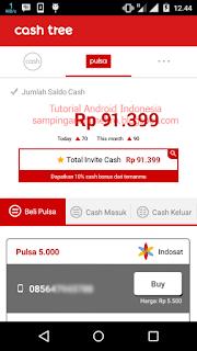 aplikasi cashtree pencari pulsa gratis