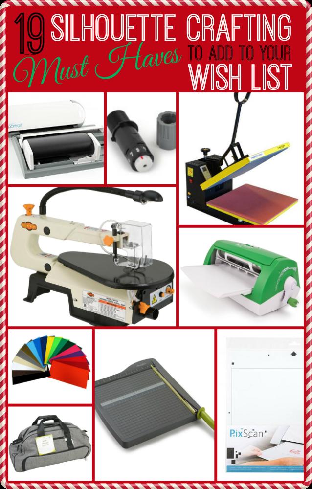 Silhouette accessories, craft supplies