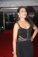 Madhu Shalini in a Glamorous Deep neck Black Sleeveless Dress at Mirchi Music Awards South 2017 ~  Exclusive Celebrities Galleries 016.JPG