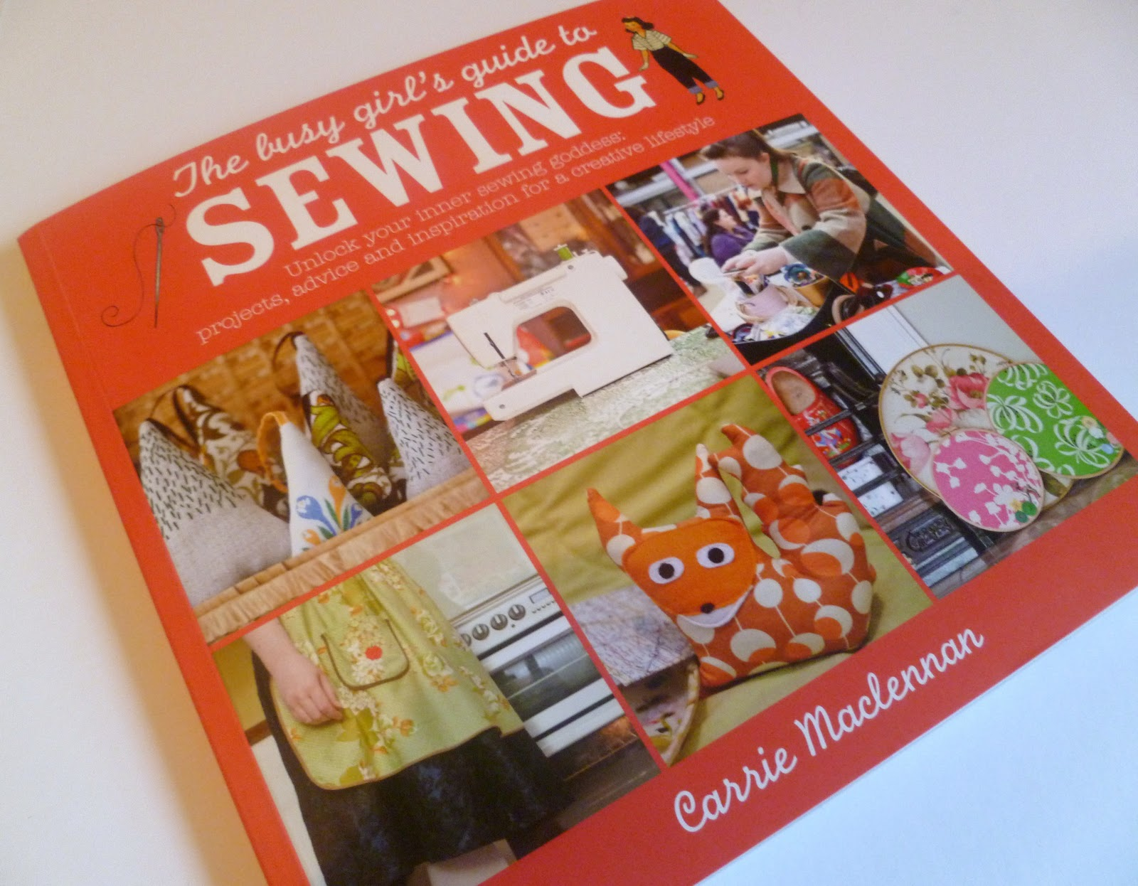 Book Review: A Busy Girl's Guide to Sewing
