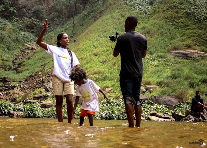 Selorm Midnyte writes: A Journey Into Nature, Wli Waterfalls.