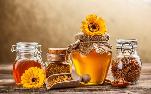 mật ong rừng nguyên chất trị mụn