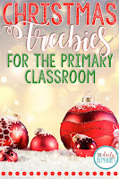 The month of December can be a hectic time in the classroom. This post is full of Christmas math and Christmas literacy fun and freebies!