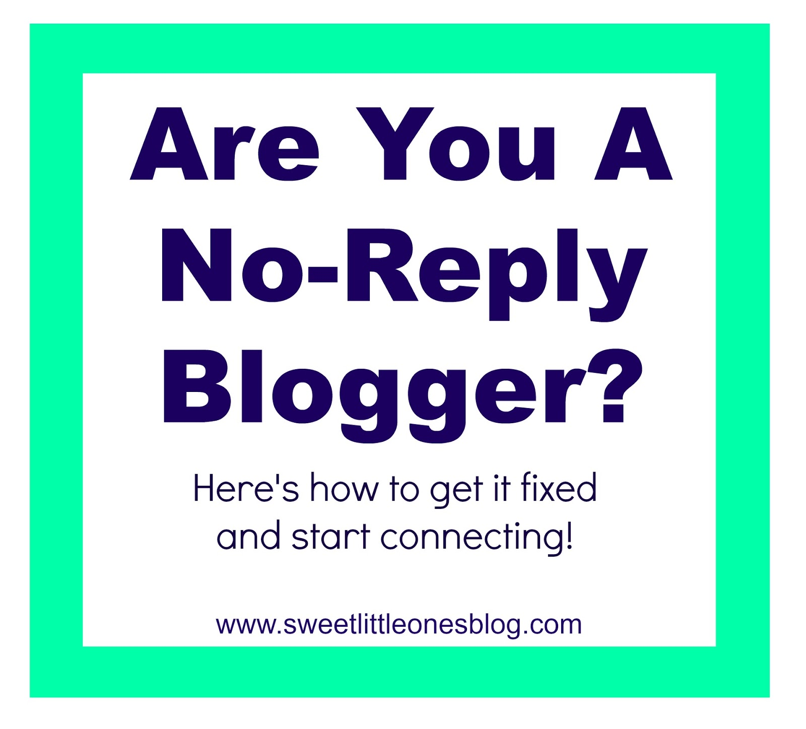How to Fix No Reply Comment Blogger - www.sweetlittleonesblog.com