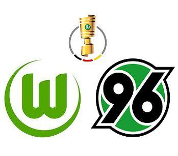 Wolfsburg vs Hannover highlights   DFB Pokal
