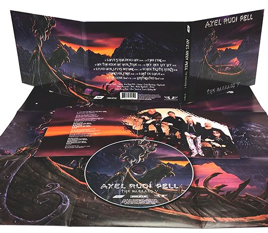 AXEL RUDI PELL - The Ballads V (2017) disc
