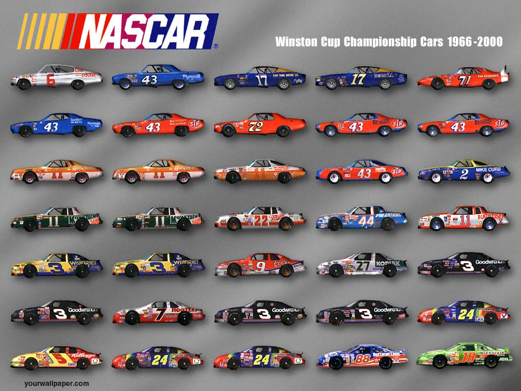Car Brands Starting With P >> History of All Logos: All Nascar Logos