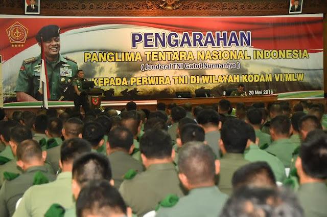 Panglima TNI : Jaga Kekompakan antara TNI dan Polri