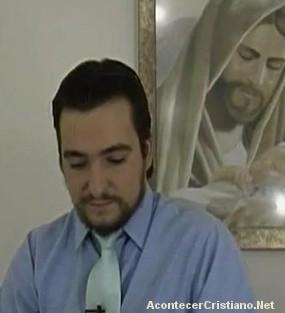 Falso cristo  Ignacio González