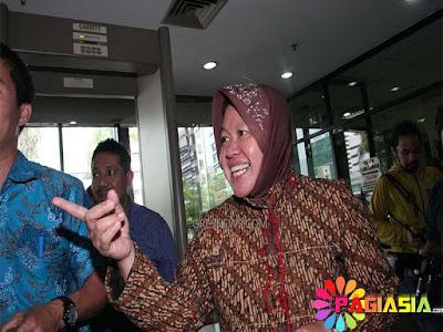 Risma Mengatakan Tidak Menerima Surat Larangan ke Dishub Surabaya Tentang Aksi 2 Desember