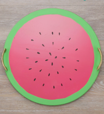 watermelon tray, diy projects, do it yourself projects, diy, diy crafts, diy craft ideas, diy home, diy decor