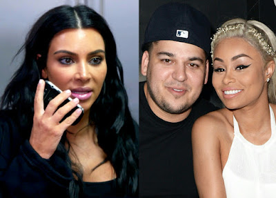 What Kim Kardashian told North West about Rob Kardashian & Blac Chyna's baby