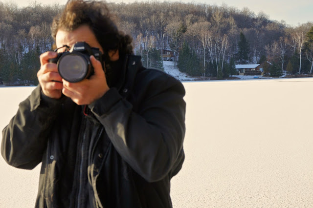 Omar Cherif in the Canadian wilderness - 2012