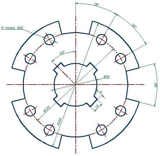 Mechanical Cad Drawings