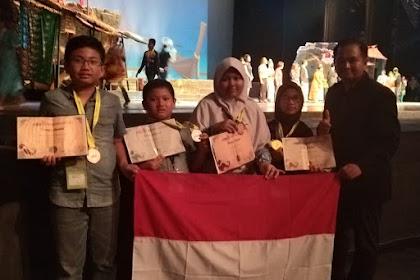 Santri Pesantren Hidayatullah Surabaya Harumkan Nama Indonesia Ajang Kompetisi Matematika di Thailand