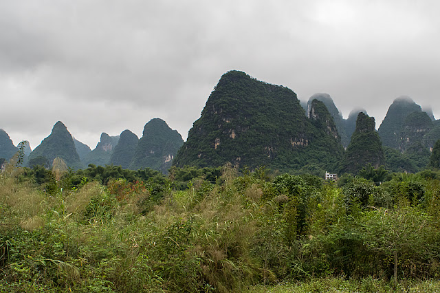 Paysage autour de Yangshuo