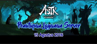 ASTA Online Indonesia Tutup