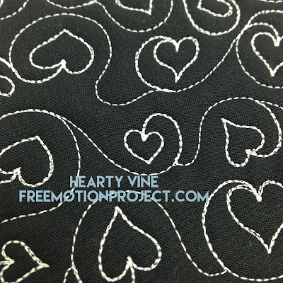 Learn how to machine quilt Hearty Vine