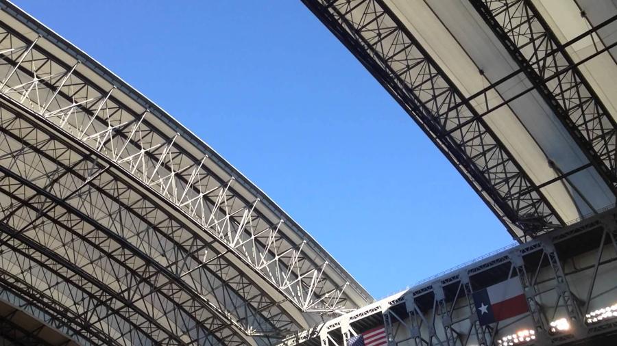 guida nrg stadium tetto super bowl