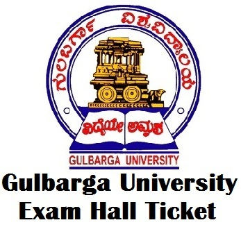 Gulbarga University Examination Hall Ticket 2017 PDF