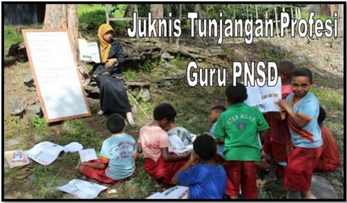 Download Juknis Tunjangan Profesi Guru PNSD