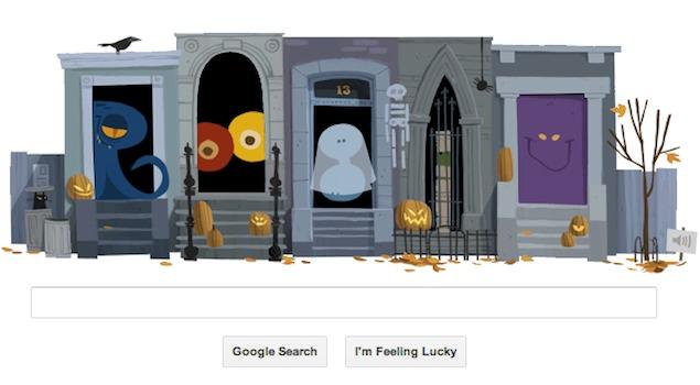 Let\u0027s Greet Play around with Google\u0027s Halloween animated