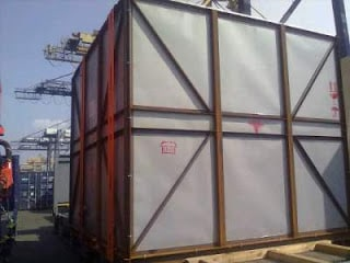 Import Barang  Heavy Weight Cargo Flat Rack (Jepang,Singapore) Ke Indonesia