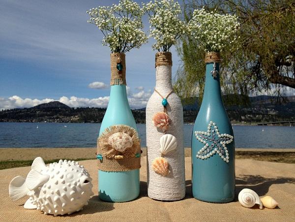 Kerajinan Tangan Dari Botol Kaca Bekas Dan Cara Pembuatannya Ide Kreatif