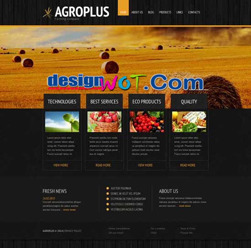 Agroplus Agriculture WordPress Theme